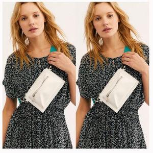 Free People Modern Pop Leather Belt Bag